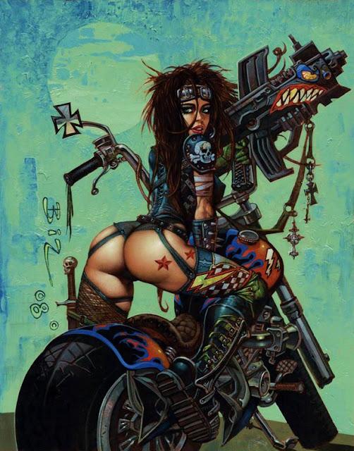Artist Simon Bisley
