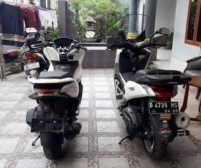 Yamaha NMax 155 vs All New PCX 150