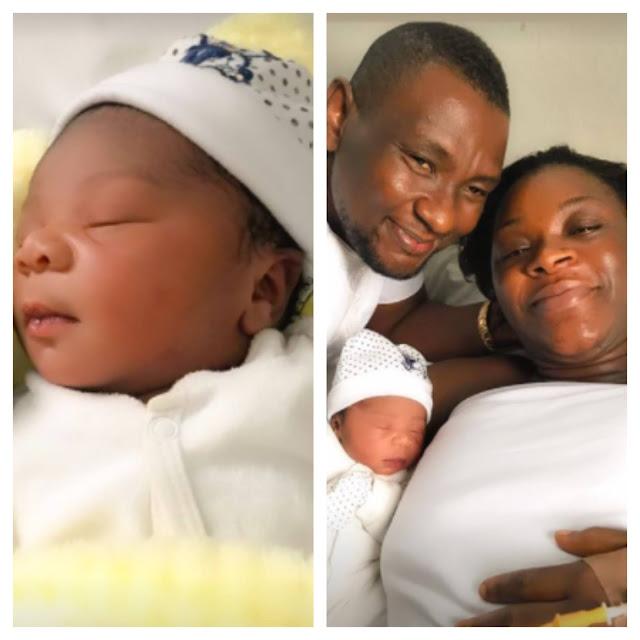 Actress, Chacha Eke Welcomes a Baby girl (Photos)