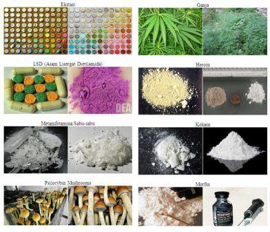 Jenis Narkoba dan Gambarnya