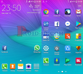 Homepage Galaxy S6 Rom For Huawei Honor 3C