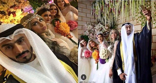 كويتي يتزوج من 4 نساء فحصلت له مفاجأة أغرب من الخيال