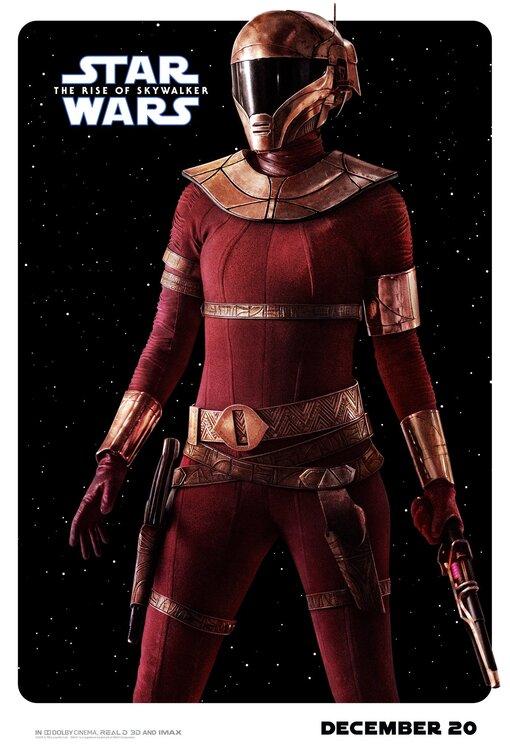 Star Wars Rise of Skywalker Zorii Bliss poster