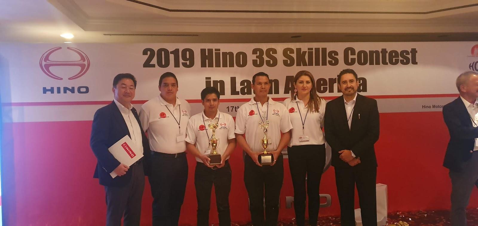 Teojama Comercial fue parte del Hino 3s Skill Contest 2020