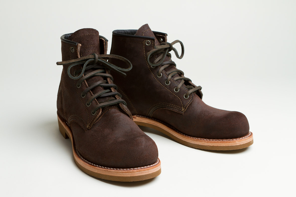 14 oz berlin blog nigel cabourn x red wing shoes the munson boot. Black Bedroom Furniture Sets. Home Design Ideas