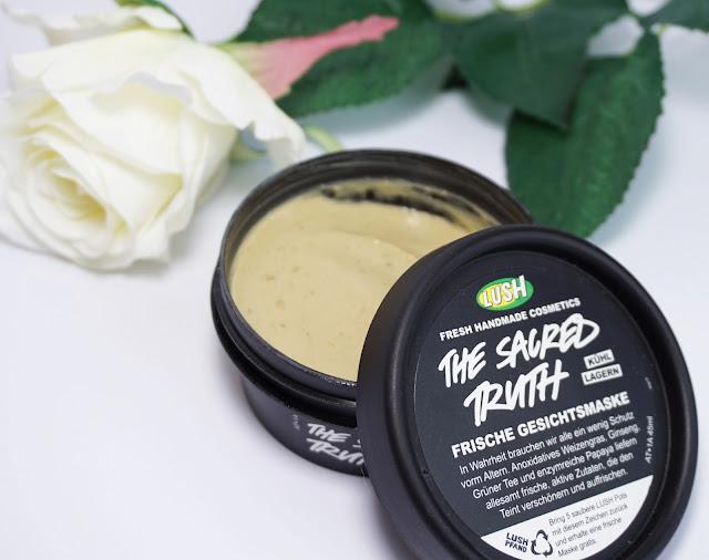 LUSH - The Sacred Truth (frische Gesichtsmaske mit Honig und Papaya)