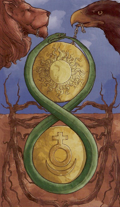 2 of Pentacles - Universal Wirth Tarot