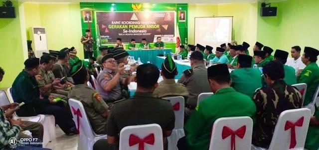 GP Ansor Tolak Kerjasama dengan Organisasi yang Melawan Hukum dan Inginkan Berdirinya Negara Diluar NKRI