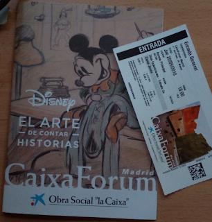 Exposición Disney, el arte de contar historias