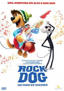 Rock Dog: No Faro do Sucesso - BDRip Dual Áudio