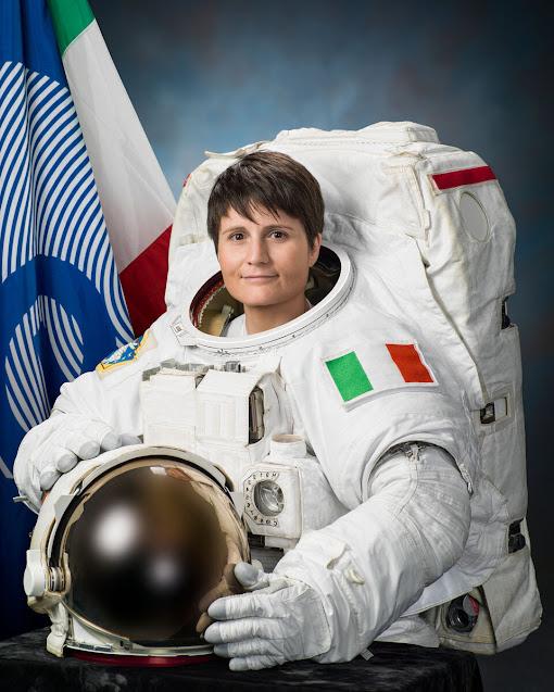Ruolo di comandante per l'astronauta italiana  Samantha Cristoforetti