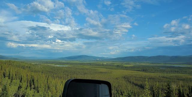Beautiful Scenery from Alaska Highway