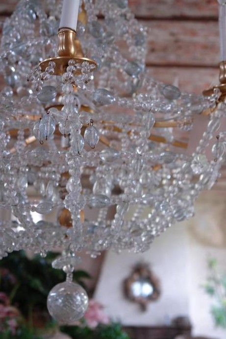 Awesome Chandelier hanging in my living room Image source Lef vre Interiors Photo credit Claude Smekens Fotografie