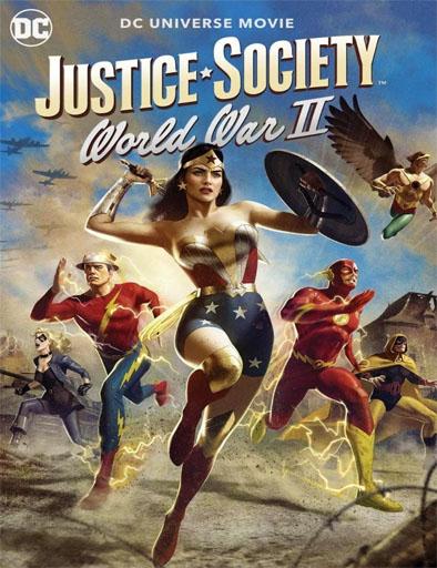 Pelicula Justice Society: Segunda Guerra Mundial