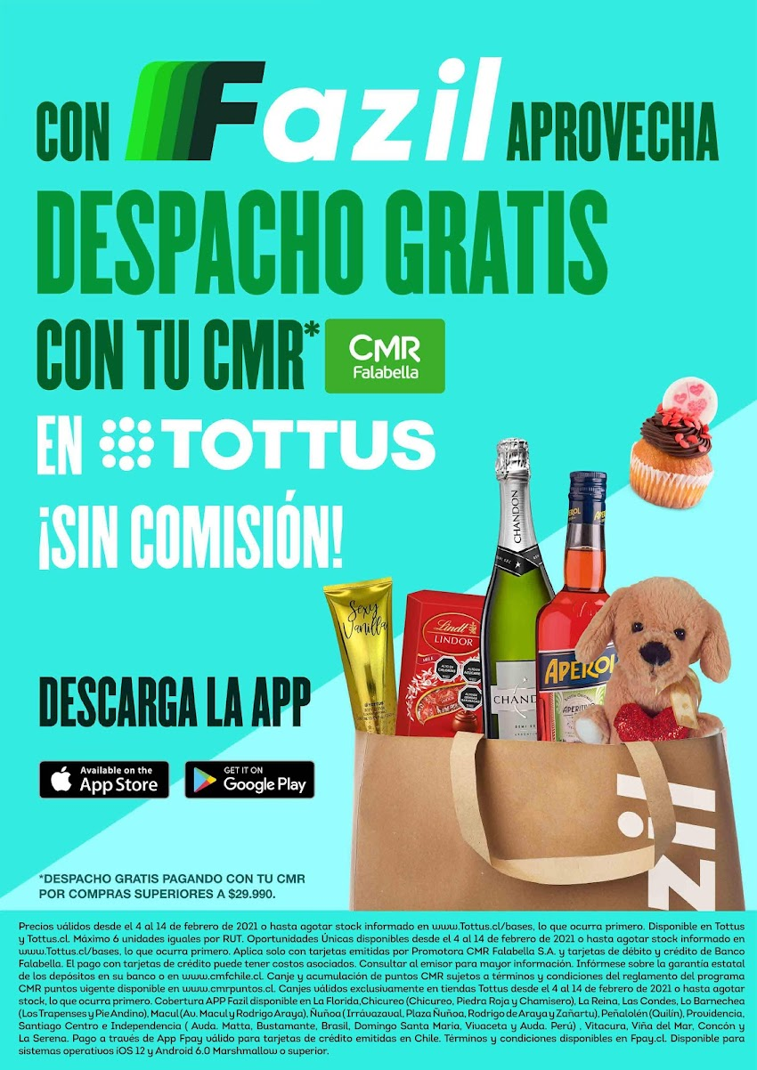 [Comunicado de Prensa] Celebra el día del amor y la amistad con los preciazos de Tottus