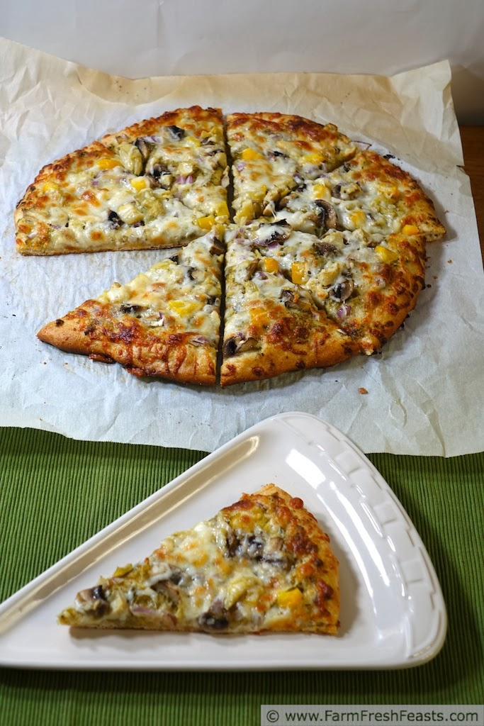 Fast Creamy Honey Wheat Pizza Dough | Farm Fresh Feasts