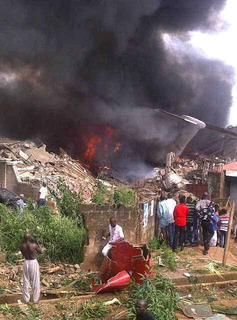 plane crash in Nigeria