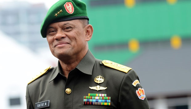 Panglima TNI Jenderal Gatot