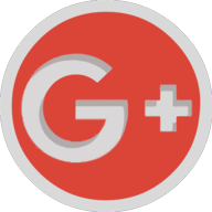 googleplus button outline