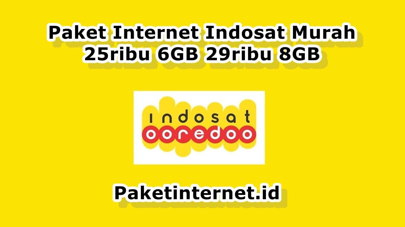 Paket Internet Indosat Murah Bulanan