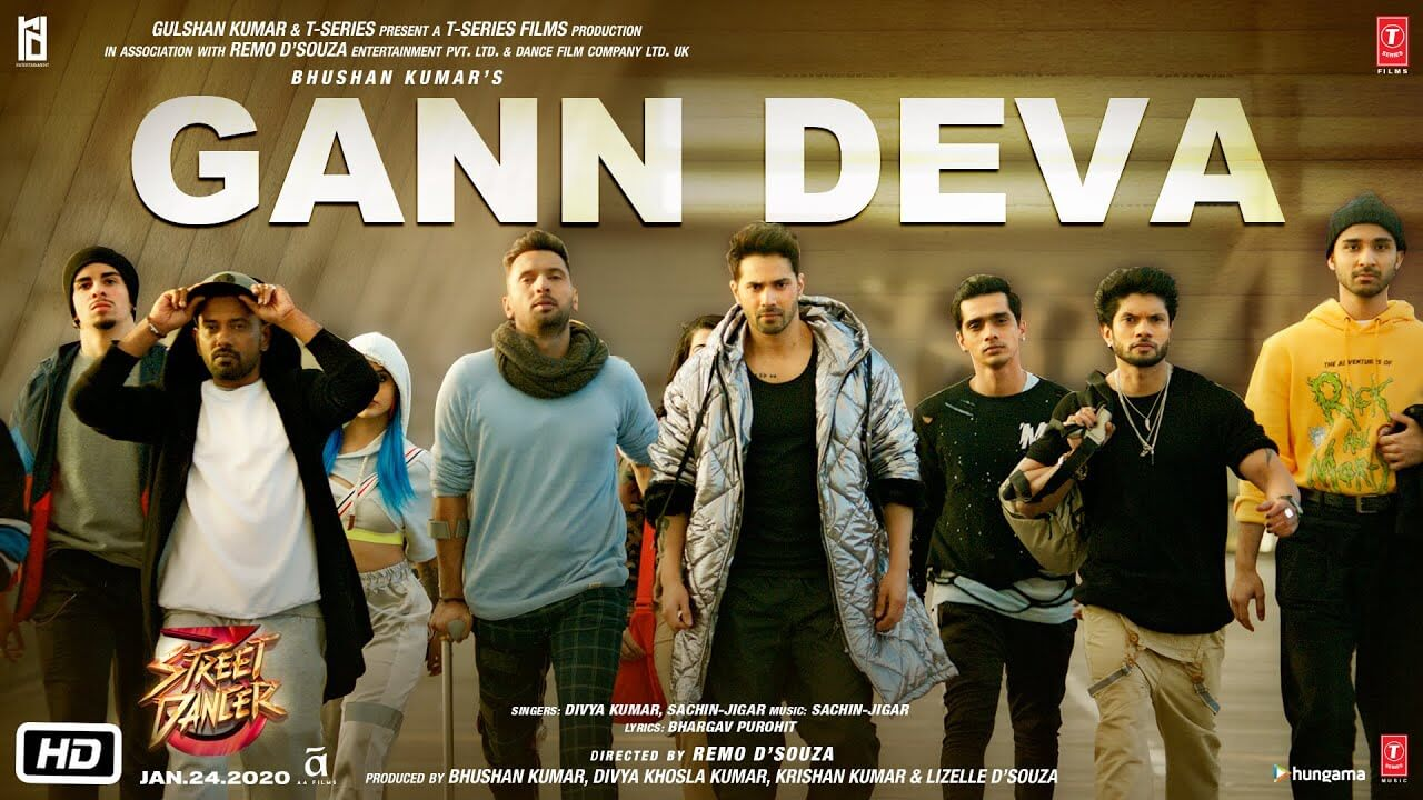 Gann Deva Lyrics in Hindi