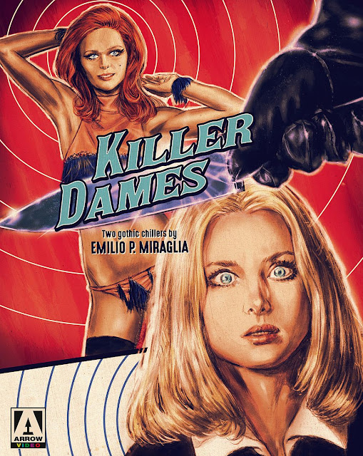Killer Dames box set from Arrow Video cover art