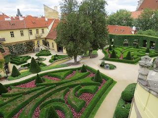 Prague gardens