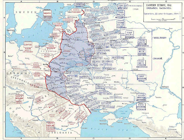 History in images pictures of war history ww2 the eastern eastern front leningrad soviet offensive december 2 1943 to april 30 1944 click to enlarge map gumiabroncs Choice Image