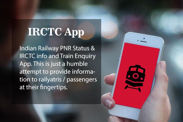 Indian Railways app For Live Train IRCTC Pnr Status | Indian