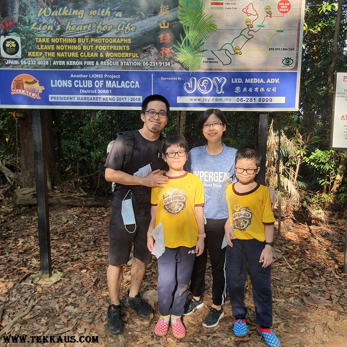 Our Hiking trip Bukit Beruang Melaka