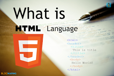What is HTML Language