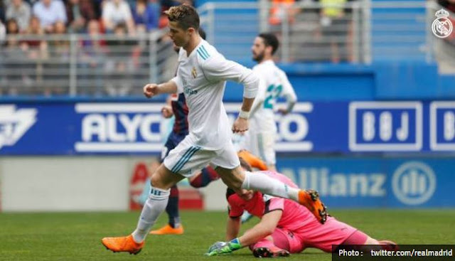 Real Madrid Menang 2-1 di Kandang Eibar - La Liga Highlights