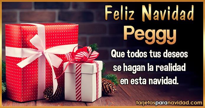Feliz Navidad Peggy