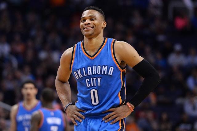 Westbrook vise le titre de MVP NBA en 2017