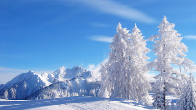 Download snow background images for mobile