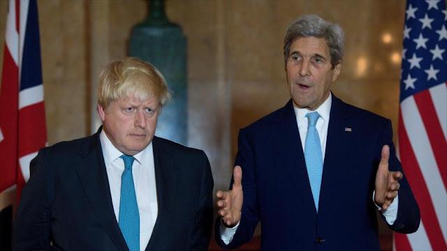 Reino Unido y EEUU amenazan a Siria y Rusia con sanciones