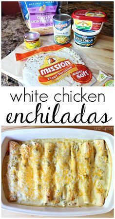 WHITE CHICKEN ENCHILADA RECIPE