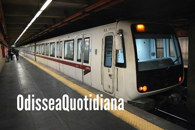 San Giovanni: si getta sotto la metro illesa