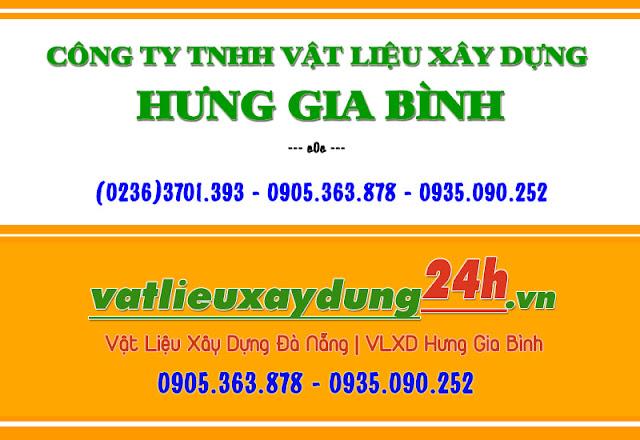 Hưng Gia Bình - Nhà phân phối vật liệu xây dựng tại Đà Nẵng, Hội An, Quảng Nam