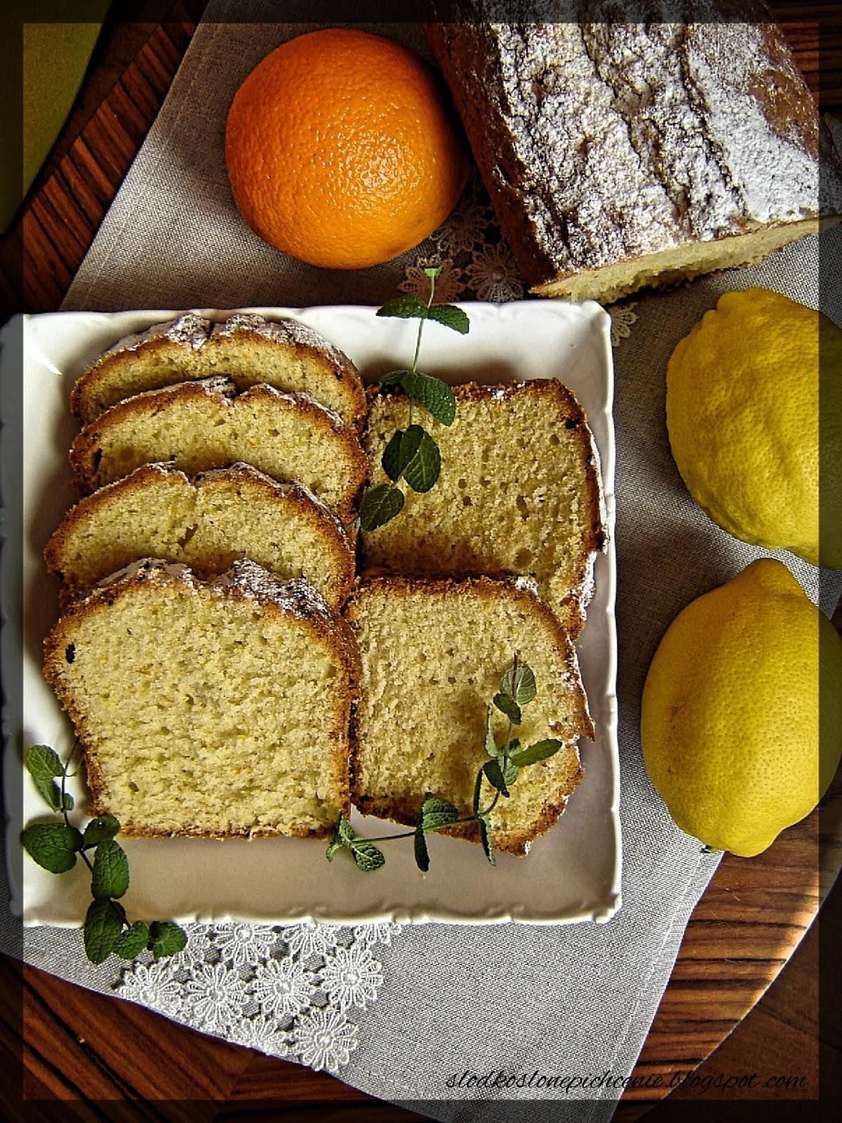 Ciasto cytrynowo-pomarańczowe