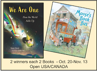 WE ARE ONE & MOSSE'S BOOK BUS