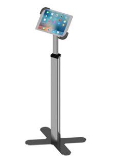 落地型平板防盜支架,平板電腦防盜鎖立架,tablet anti theft floor stand,NLF201