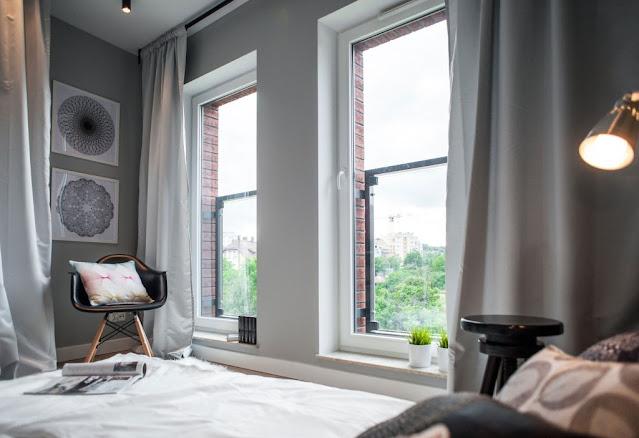 appartamento al maschile con ispirazione industriale