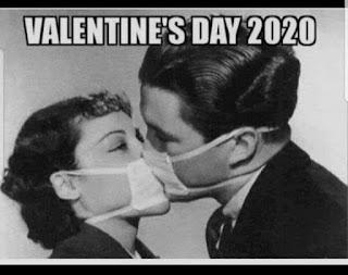 Meme San Valentín coronavirus 2020