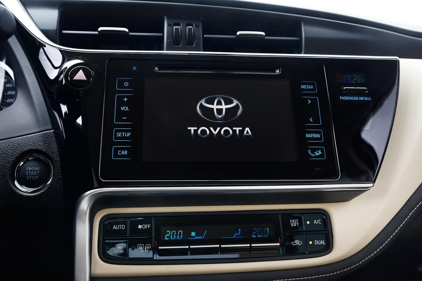 Мультимедия Tooyota Corolla 2017