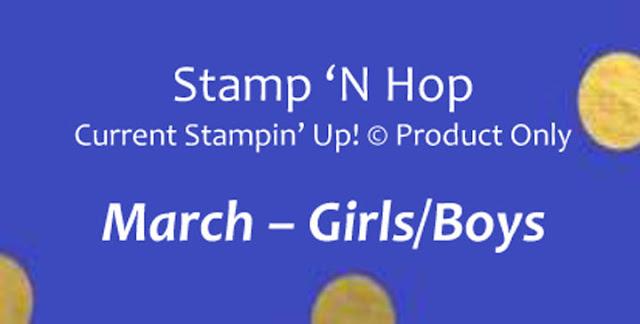 Stamp n Hop Blog Hop Stampin Up