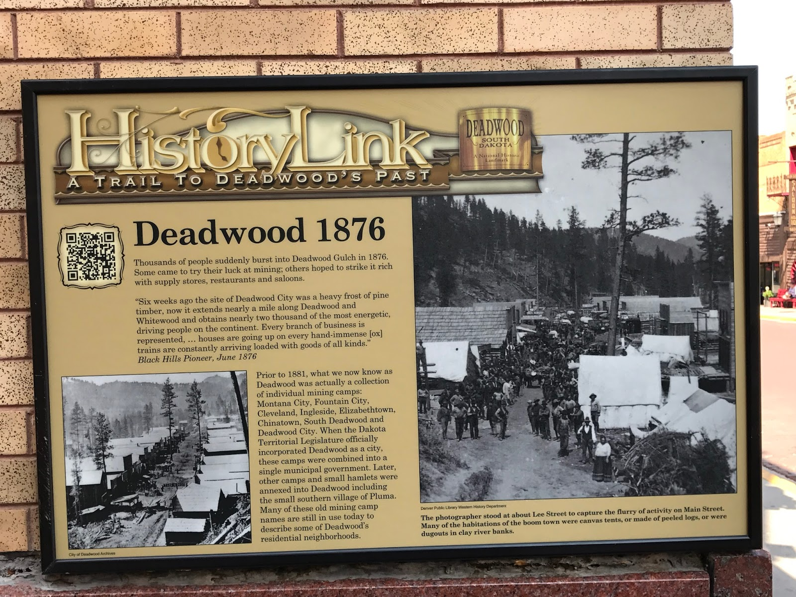 roughing it gently 2017 july 22nd visit to deadwood s d