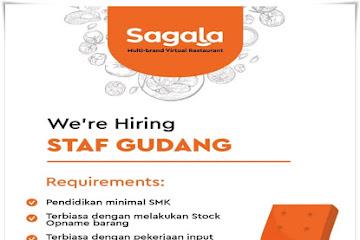Lowongan Kerja Staf Gudang Sagala Bandung