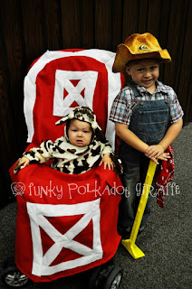 Halloween Farmer Costume