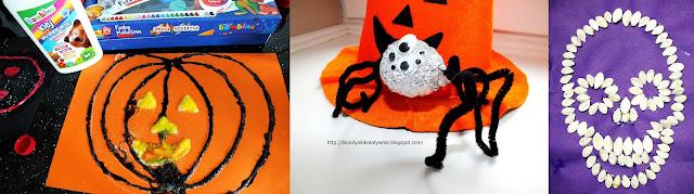 Halloween -prace plastyczne  last minute